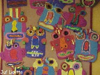 Kleurplaten Maskers Afrika.Carnaval