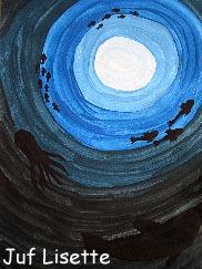 dikke blauwe öes