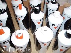 flessen versieren met servetten