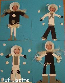 kleurplaten voor volwassenen eskimo